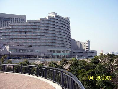 Odaiba. Tokyo bay.Nikko Hotel 2005