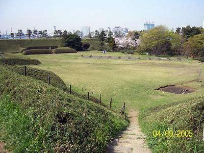 "Dai-Roku Daiba or ""No. 6 Battery"", one of the original Edo-era battery islands, walking distance from the developed area of Odaiba 2005"