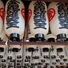 Lanterns at Hozenji Temple, Osaka, Japan