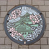 Manhole cover, Osaka, Japan
