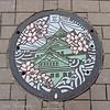 Manhole cover, Osaka, Japan
