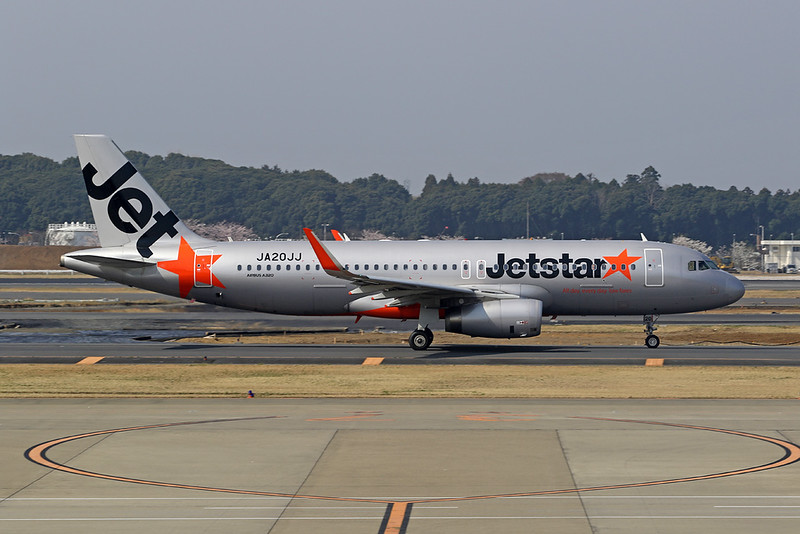 "JA20JJ Airbus A320-232 ""Jetstar Japan"" c/n 6381 Tokyo-Narita/RJAA/NRT 27-03-18"