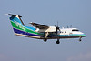 "JA801B de Havilland Canada DHC-8Q-201 ""Oriental Air Bridge"" c/n 566 Fukuoka/RJFF/FUK 11-01-14"