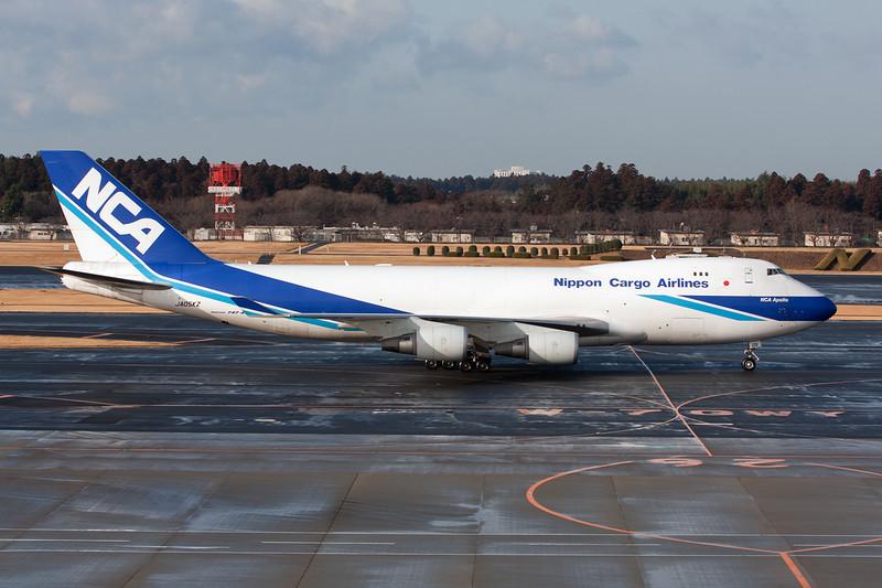 """JA05KZ Boeing 747-4KZF """"Nippon Cargo Airlines"""" c/n 36132 Tokyo-Narita/RJAA/NRT 25-02-11"""