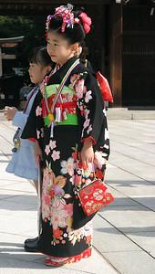 Shichi-Go-San season, Meiji Shrine, Harajuku Sunday
