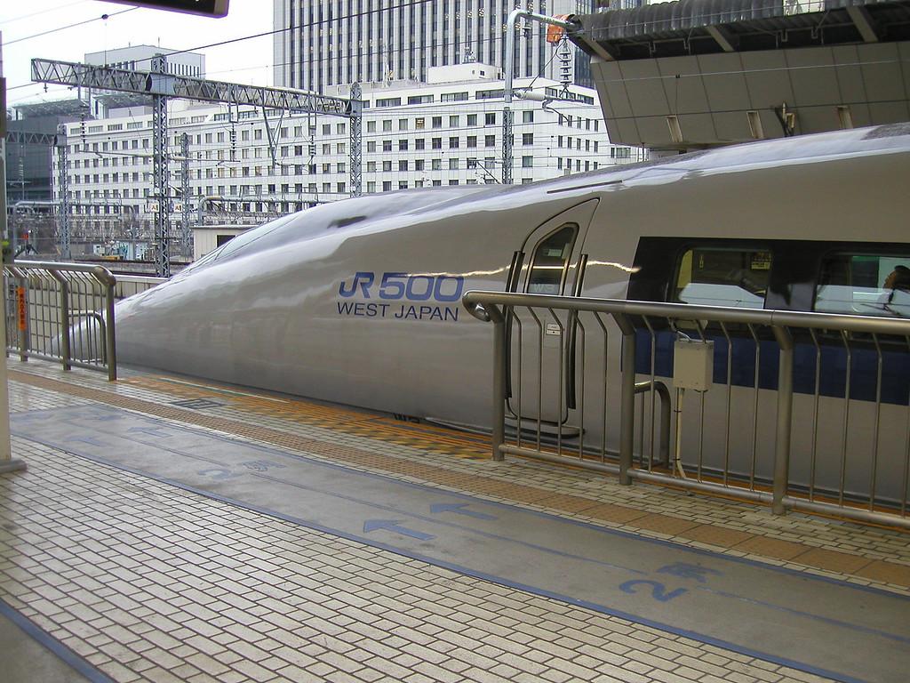 Osaka Jan 2003 Shinkansen