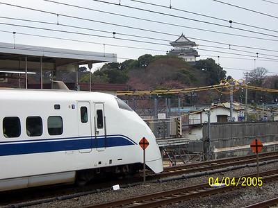 Odawara, Japan Shinkansen, 2005