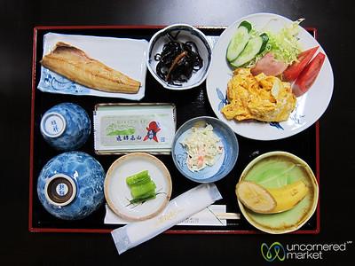 Japanese Breakfast - Takayama, Japan