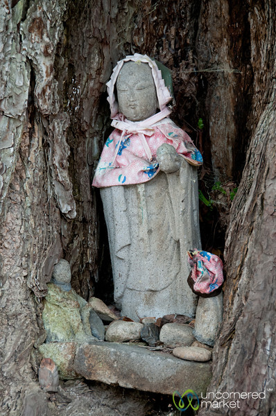 Jizo Statue - Takayama, Japan