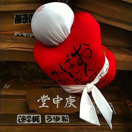 Sarubobo (Happy Monkey Baby) offering - Takayama, Japan #dna2japan #gadv