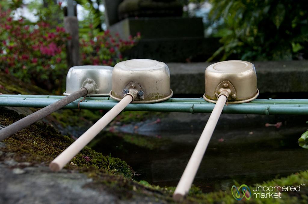 Chozu, a Cleansing Ritual - Takayama, Japan