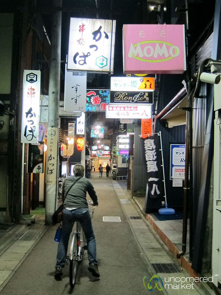Biking Through Takayama - Japan
