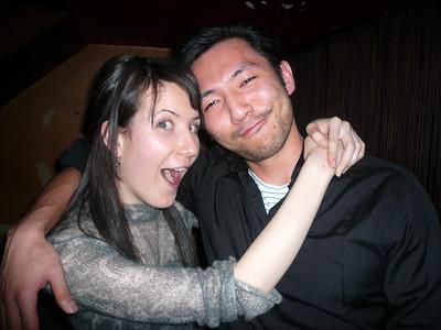 2007, March, Hillary Hide at  Bob & Mina Wedding, Tokyo, Japan