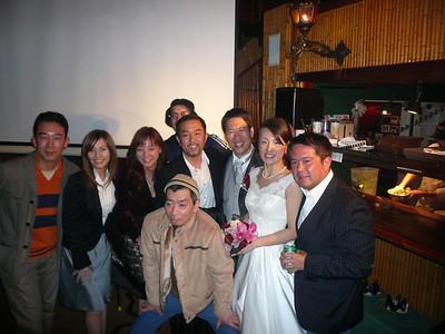 2007, March Bob & Mina Wedding, Tokyo, Japan