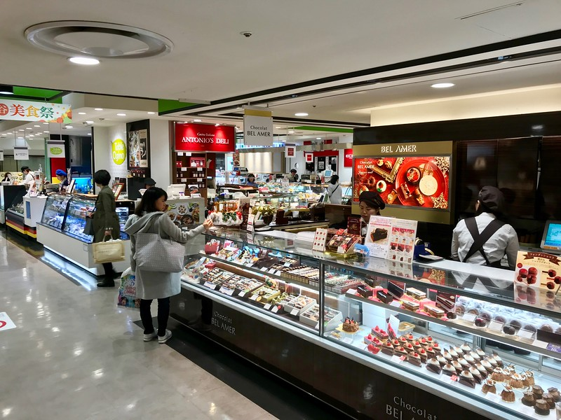 Tokyu Food Show - Shibuya Crossing