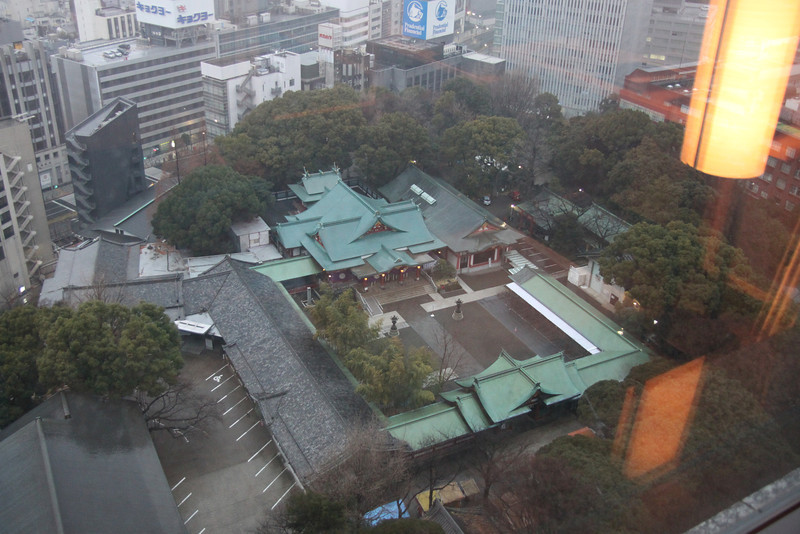 Capitol Hotel Tokyu - view - Hie Shrine