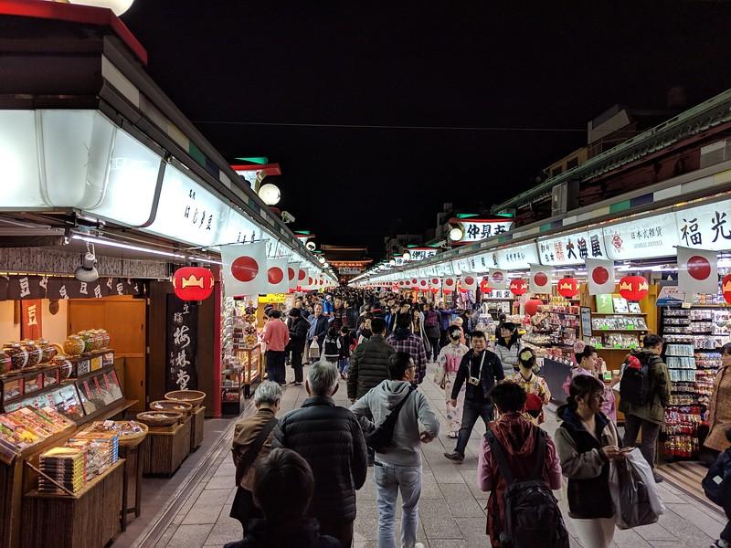 Nakamise Shopping Street - Asakusa