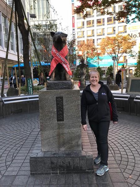 Hachikō Statue - Shibuya Crossing