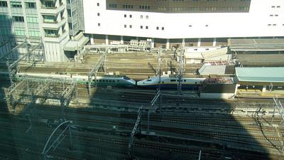 Shinkansen - Tokyo Station. Tokyo Springtime.2007