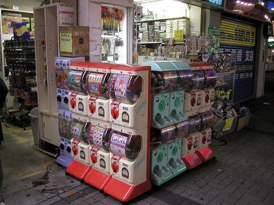 Tokyo, Akihabara Electric Town-  nightlife Aug 2002
