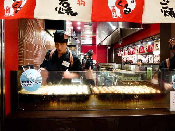 takoyaki tokyo japan