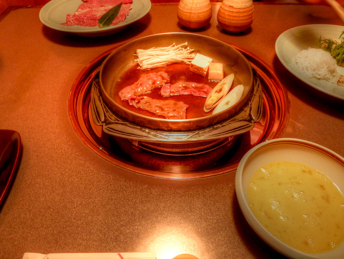 sukiyaki rangetsu