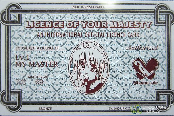 Tokyo Maid Cafe Card - Japan