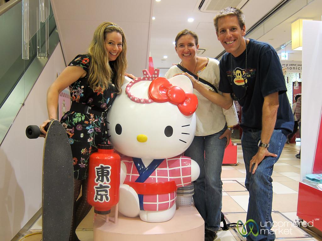 Hanging With Hello Kitty in Akihabara, Tokyo