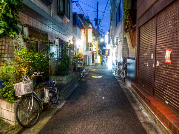 lonely japan street