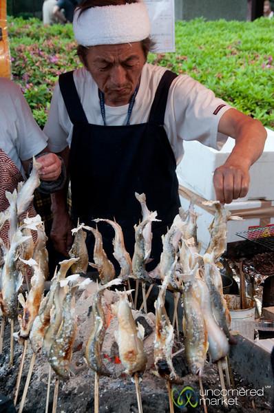 Grilled Fish - Tokyo, Japan