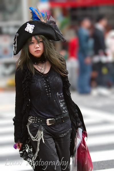Harajuku Cosplay girl, Tokyo, Japan