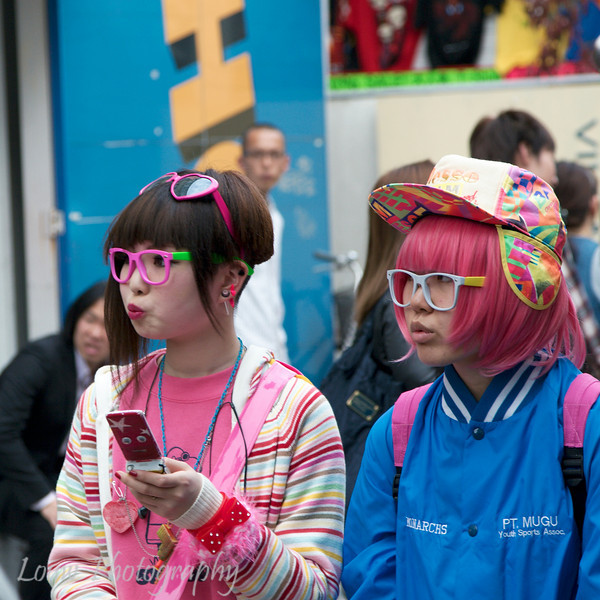 Harajuku Cosplay girls, Tokyo, Japan