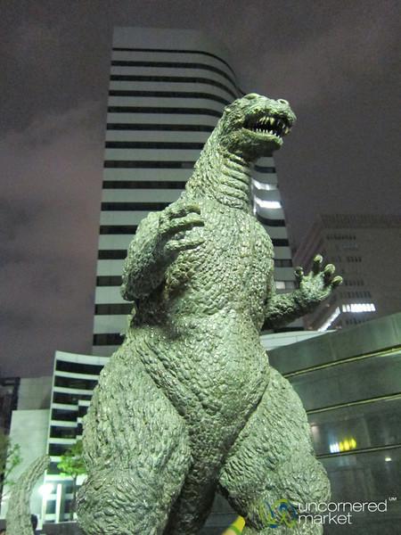 Godzilla Takes on Tokyo