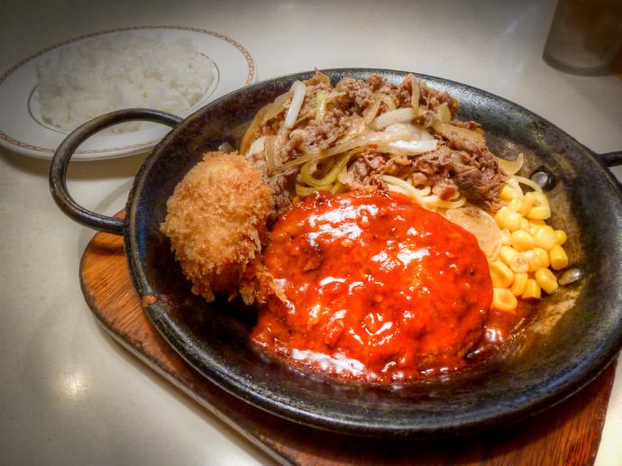 fried beef and pork japan