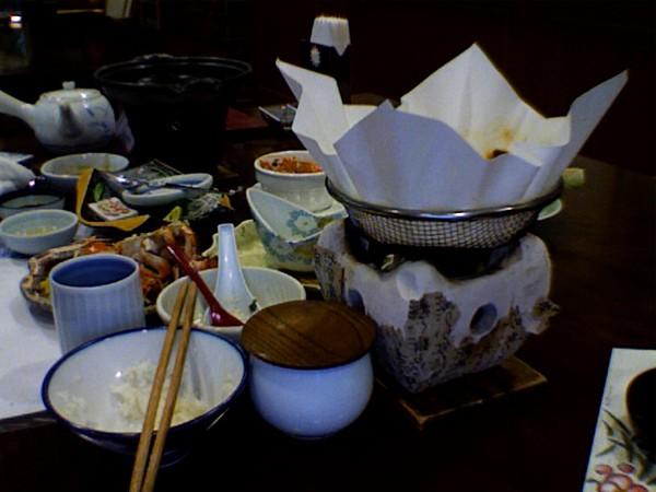 Authentic Japanese dinner in Yakushima, Japan