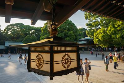 Lantern at Yoyogi Park shrine