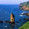 Coastline<br /> Site of 12-14,000 yo Temple of Mu<br /> Yonaguni, Ryukyu Is., Japan