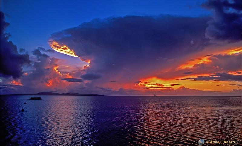 Sunset Seascape<br /> Okinawa, Japan