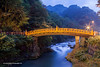 Shin Kyo Bridge, Nikko, Tochigi  prefecture, Japan.