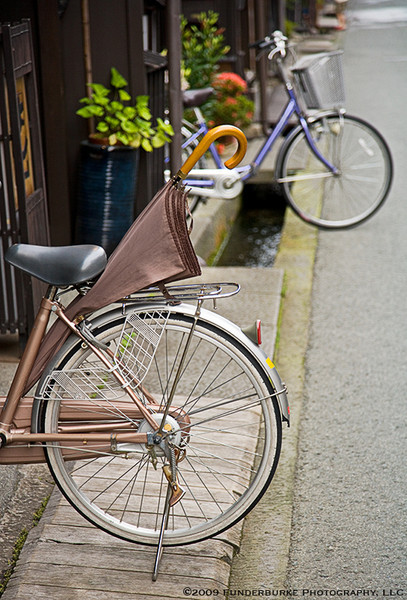 Bicycles, Takayama, Japan