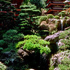 Japanese garden pagodas