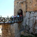 Crossing the Drawbridge – Ajlun Castle, Jordan – Photo