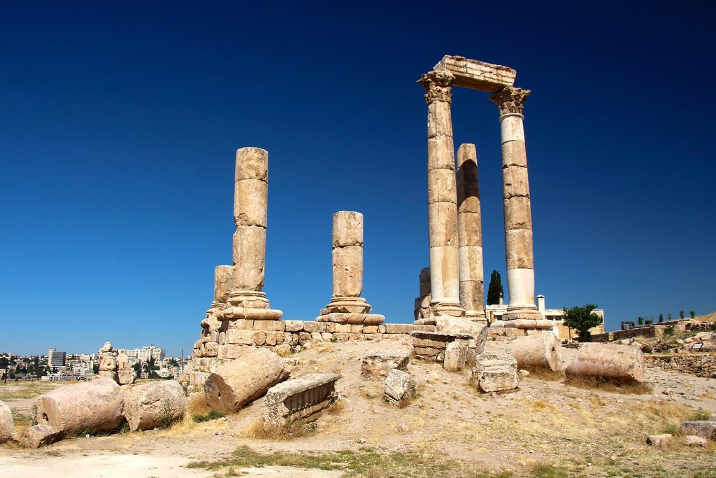 Temple of Hercules - Amman, Jordan - Photo