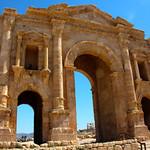 Arch of Hadrian – Jerash, Jordan – Photo