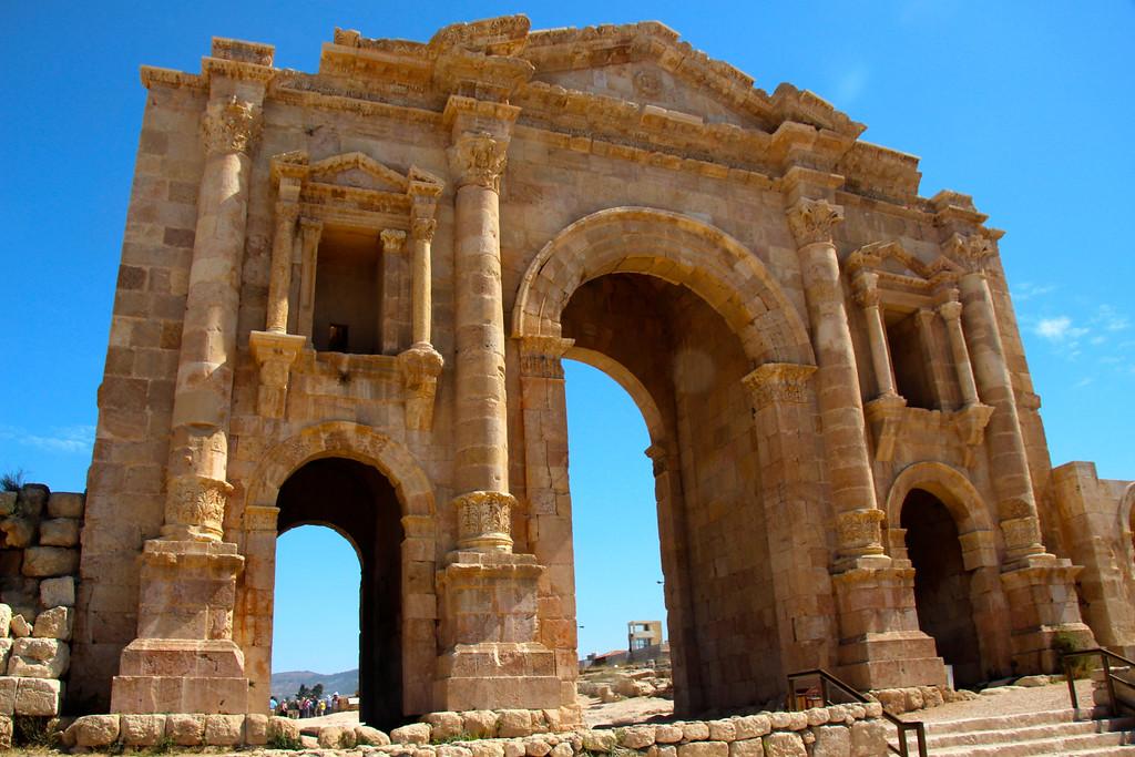 Arch of Hadrian - Jerash, Jordan - Photo
