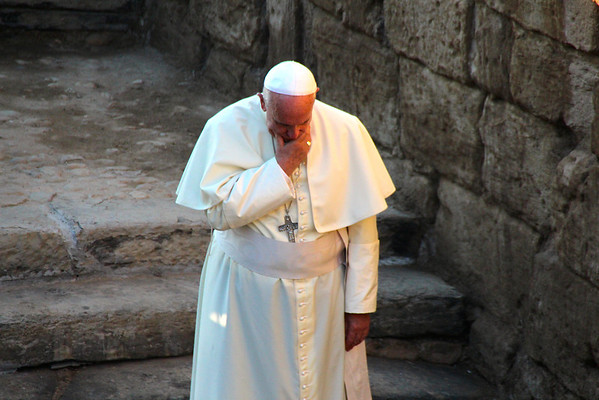 Pope Francis at Bethany, Jordan