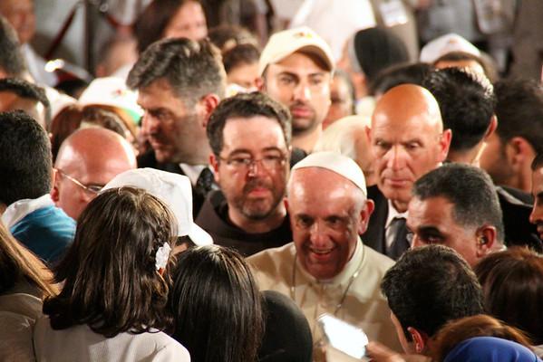Pope Francis at Bethany, Jordan