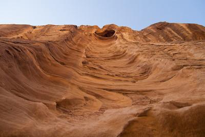 Rock face, Petra