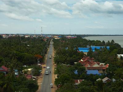 Road to Prey Veng, North of Phnom Penh