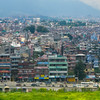 Kathmandu from the plane...it was a lot bigger than I thought it would be